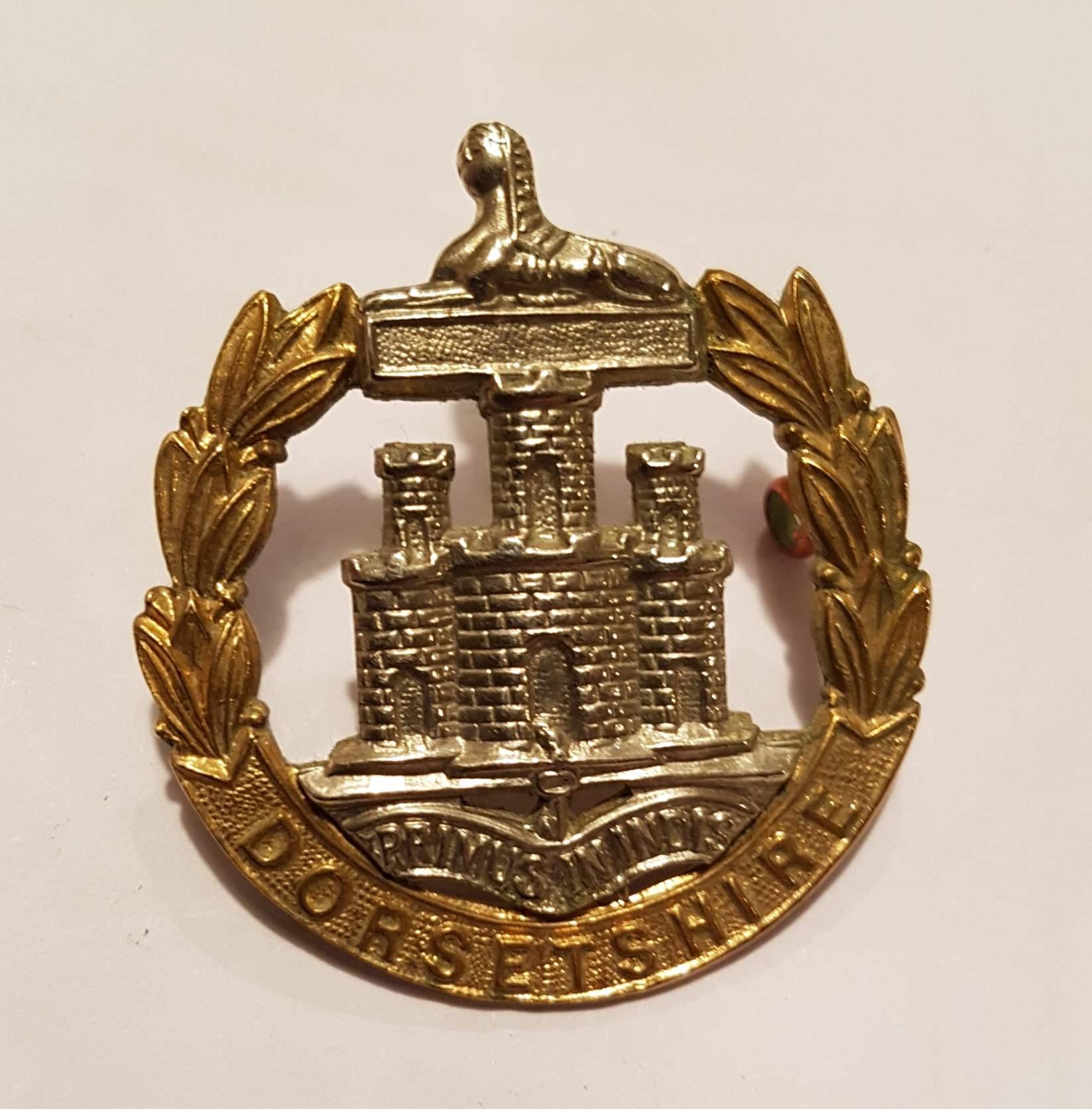 Large Dorsetshire Regimental Medal Display Case