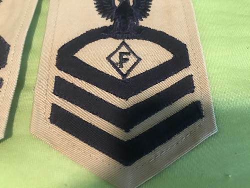 Unknown Rank Insigna Maybe WW2?