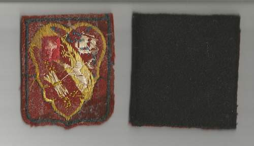 Need Help Please? French or British WWII Patches?