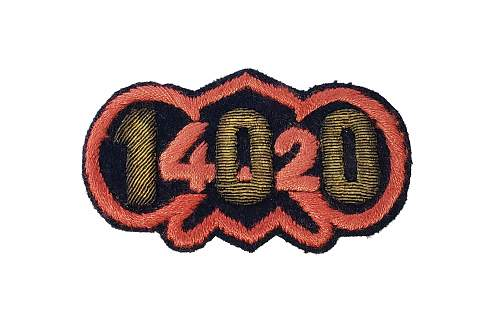 WWII (US) 100th Chemical Mortar Battalion Italian Theater Made Patch