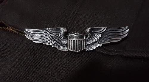 HELP REAL OR FAKE? WW2 USAAF Wings