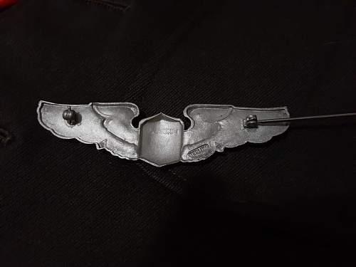 HELP REAL OR FAKE? WW2 USAAF Wings