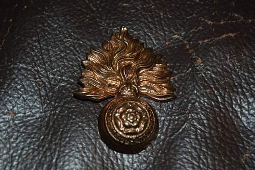 British Cap badges - Newbie needs assistance!