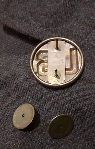 Wwii original us collar disc quartermaster