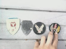 WW2 US  army air corps patches!