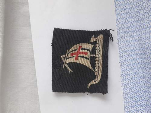 WW2 British Epaulet Patch?