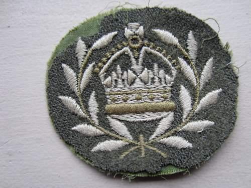 WW 1 or WWII IRISH FUSILIERS OF CANADA Patch?