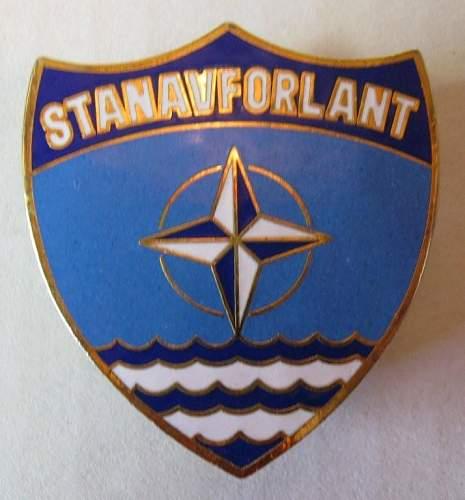 Unknown NATO badge
