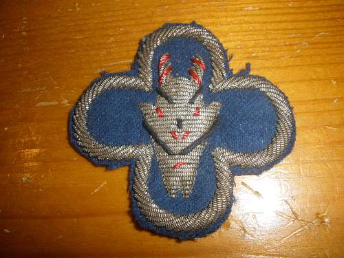 "US 88th Inf Dv shoulder sleeve insignia ""blue devil"" and others"