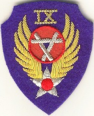 9th engineers air corps  patch