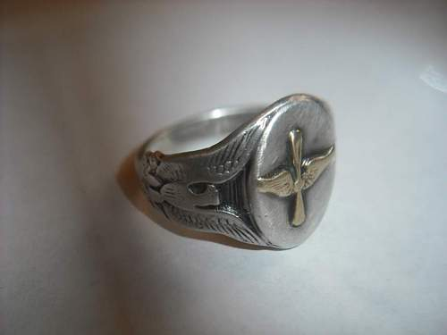 Army Air Corps Ring ID help please