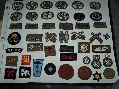 Help Identifying British patches