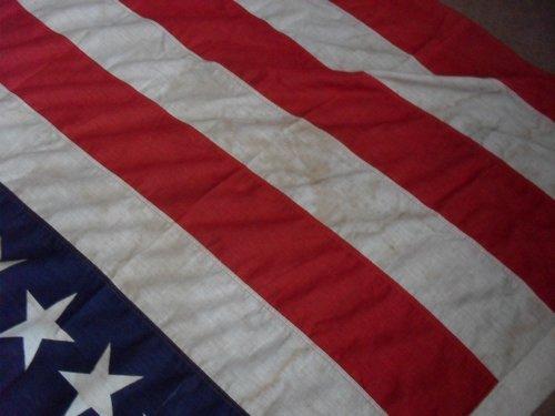 45 star US flag, original maybe ????