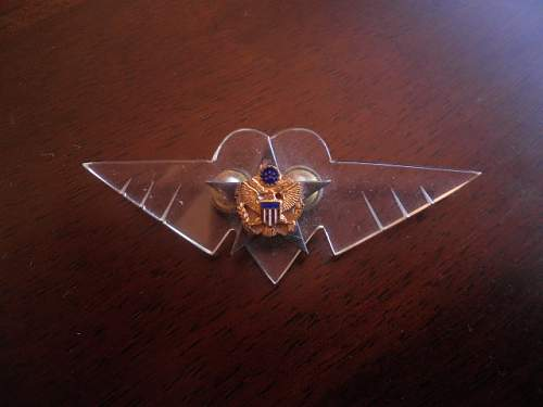 U.S badge?
