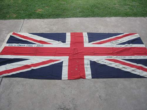 Any Ideas on this Large English Flag