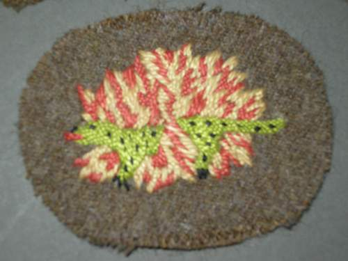 Need help with a No 1 Commando salamander patch,genuine or fake?