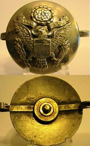 Just a few US insignia