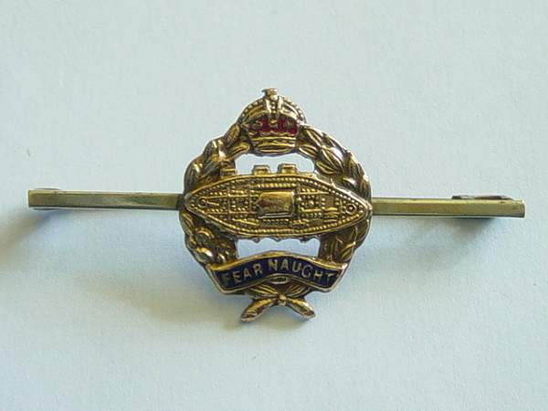 Click image for larger version.  Name:Royal Tank Regiment tie pin..jpg Views:399 Size:135.6 KB ID:19084