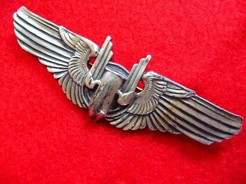 US Aerial Gunner Wing