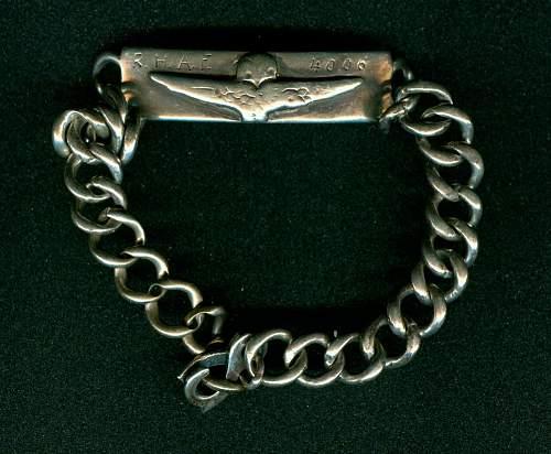 Greek R.H.A.F. bracelet