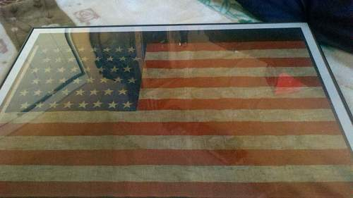 original ww2 american flag?