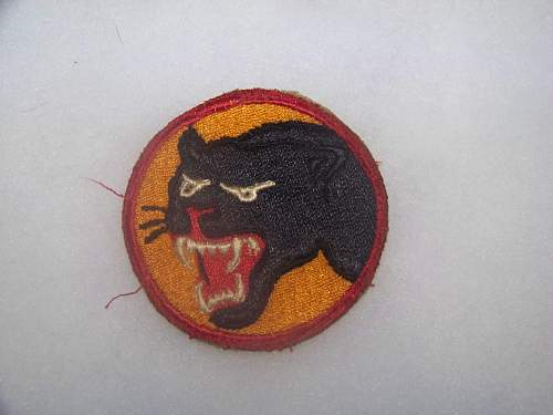 how to tell if a US patch is from ww2