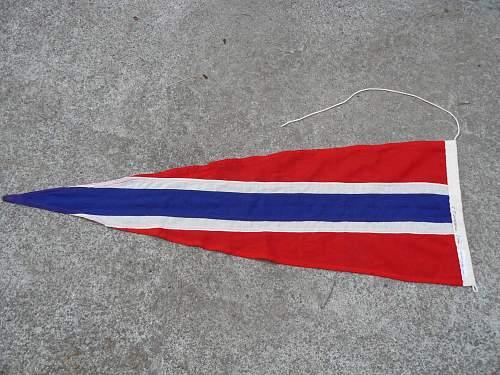 Norwegian Navel pennant/flag?