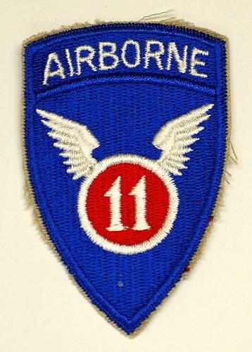 U.S. 11th Airborne Patch