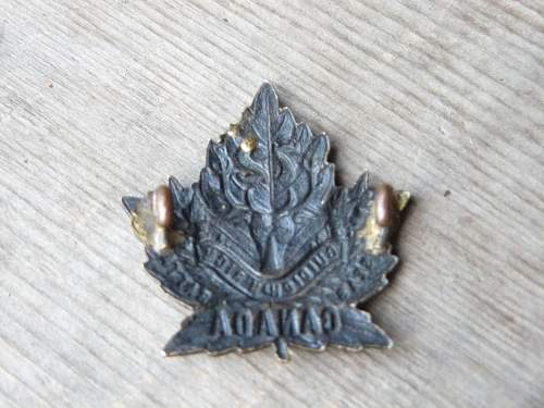 72 seaforth highlanders overseas battalion cap badge ?