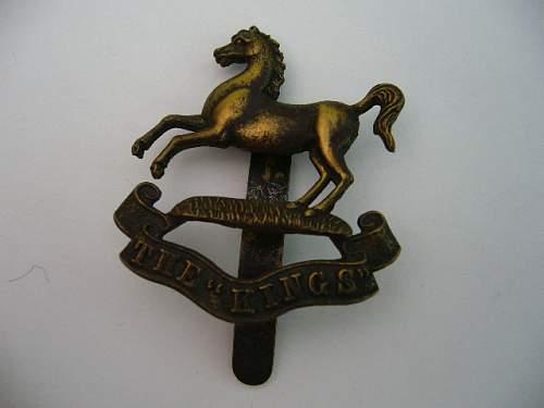 The Kings cap badge ID