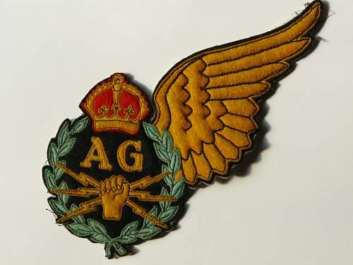 Unknown Air Gunners Badge