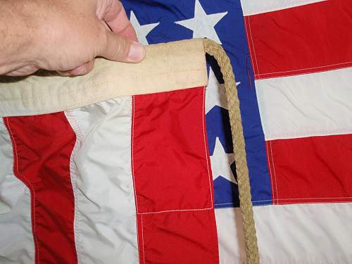 Is this US flag WW2 or post War?
