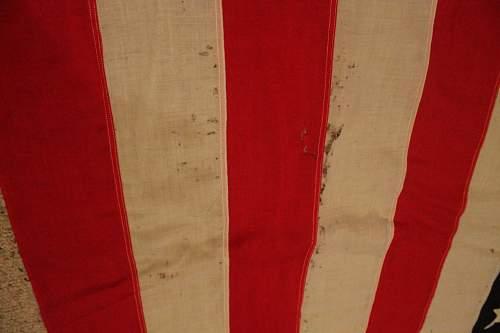 48 star US flag USMC Marked
