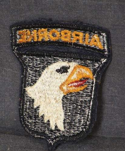 WWII 101st airborne patch