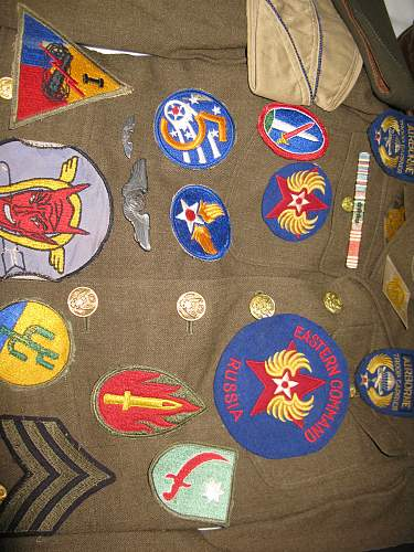 US Eastern Command-- Russia Patches