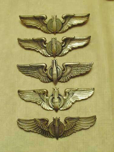 WWII bomber wings i think