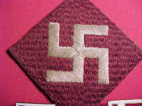 What is your favorite U.S. Patch