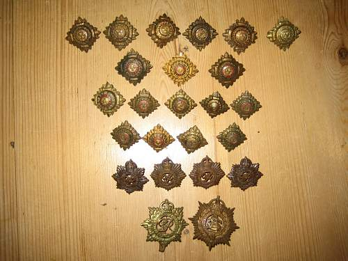 British badge and button lot from Ebay