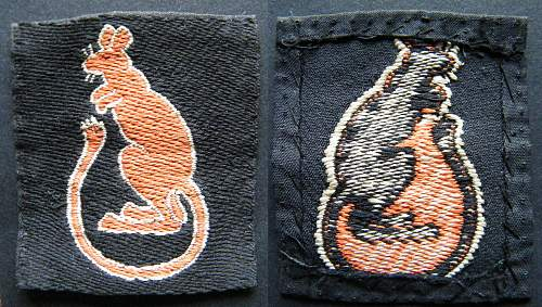 Click image for larger version.  Name:7th armd div patch.jpg Views:373 Size:292.9 KB ID:299820