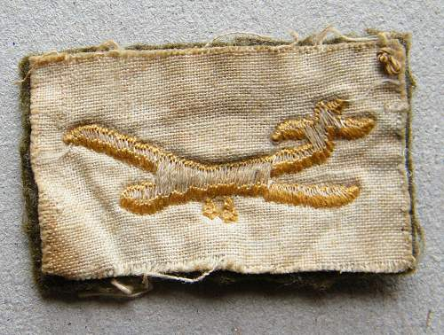 Glider troops patch