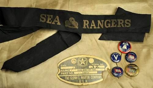 Cap Tally, SEA RANGERS