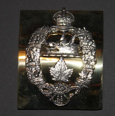 Lorne Scots officer's cross plate