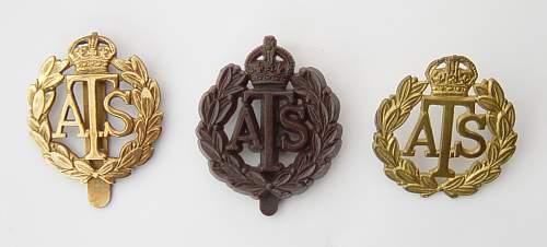 Click image for larger version.  Name:ATS Cap badges 001.JPG Views:767 Size:198.0 KB ID:335415