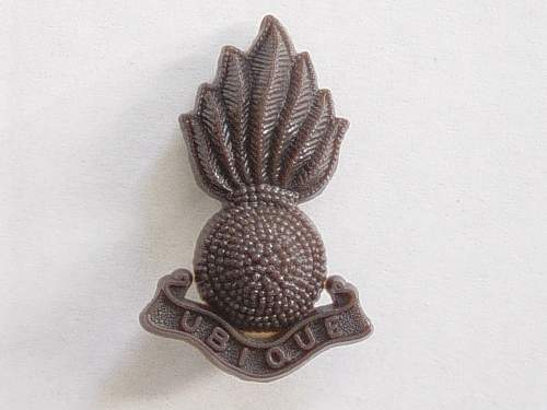 Click image for larger version.  Name:Royal Artillery Plastic cap badge..jpg Views:4403 Size:183.4 KB ID:335434
