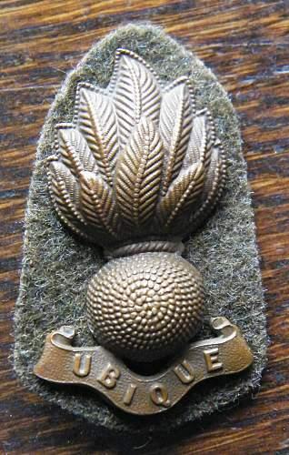 Royal Engineers badge