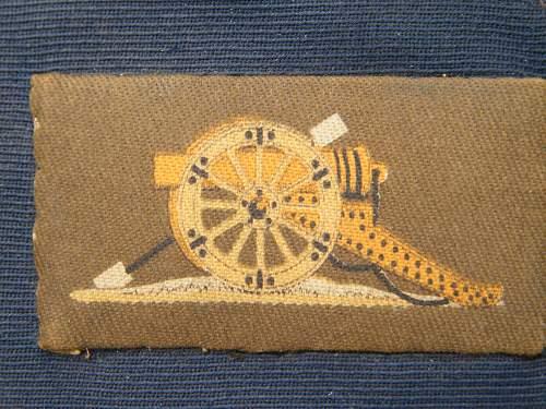 Royal Artillery Pennant?
