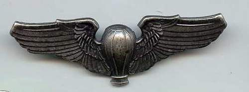 U.S. Army Air Force - Balloon Wings