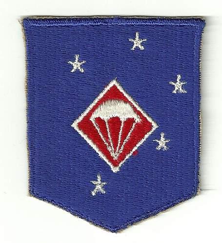 WW2 USMc ParaMarine Patch ??