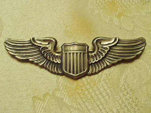 WWII US Army Air Force Pilot Wings.........