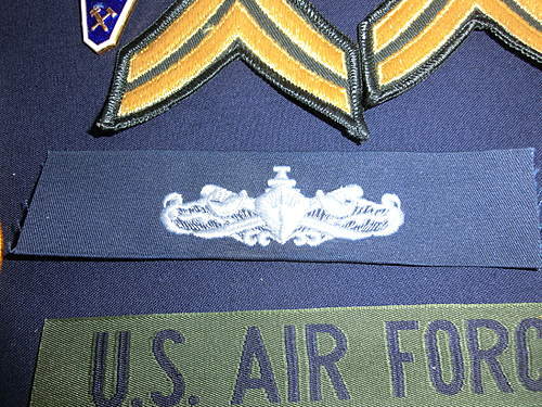 Identifying some military patches